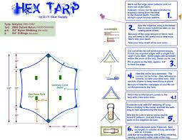 tarps diy gear supply
