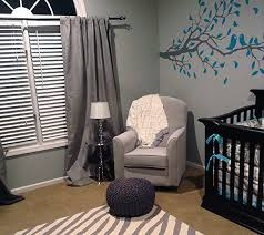 Modern Nursery Curtains Modern Nursery Trend Watch Gray U0026 Teal Disney Baby