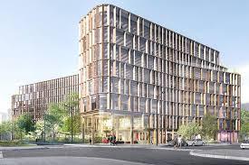 immeuble de bureaux curve un immeuble de bureaux écologiques bnp paribas estate
