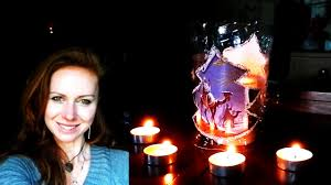 how to make candle holder from plastic bottle youtube