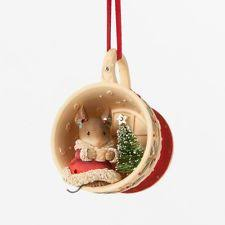 Christmas Mice Decorations Heart Of Christmas Mice By Karen Hahn For Enesco At Fiddlesticks