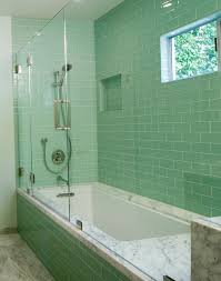creative modern shower tile design on bathroom with designs ideas