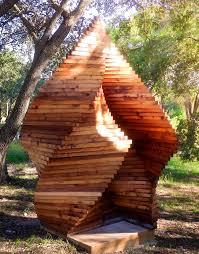 tree hugger sculptures of bee cave