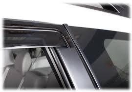 Exterior Door Rain Deflector by Tape On Outside Mount Perfect Fit Window Visors Shades Weather