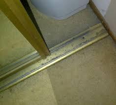 Sliding Closet Door Track Need Replacement Closet Door Track Swisco