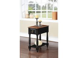 black side table with shelf qrabard oak black side table with drawer shelf shop for affordable