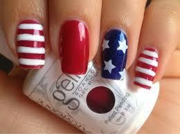 4th of july nail art all for fashions fashion beauty diy