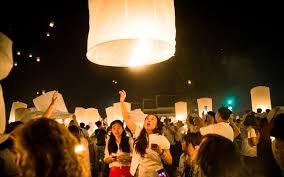 the lights festival houston 2016 thailand s floating lantern festival travel leisure