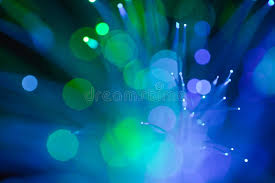 abstract background of blue and green spot lights stock image