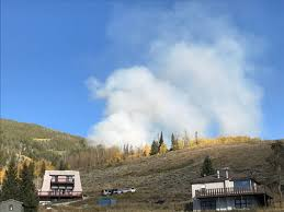 Colorado Wildfire Status by Tenderfoot Fire Near Dillon Spreads To 21 Acres U2013 The Denver Post