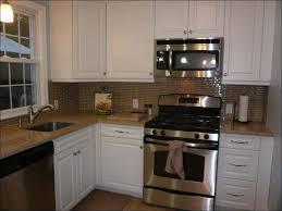 Steel Tile Backsplash by Kitchen Stainless Steel Tile Trim Backsplash For Stove Area