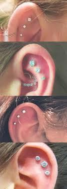 awesome cartilage earrings teki en iyi 21 piercings görüntüleri kulak