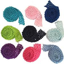 crochet band 1 5 crochet elastic stretchy waistband headband hairband band