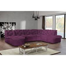 canapé d angle prune modern sofa canapé clac d angle panoramique prune achat vente