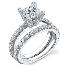brilliant engagement rings images 1 50 carat round brilliant cut diamond pave engagement ring jpeg