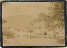 Altes Bad Kreuth Klosterlehen Gästehaus Winkler