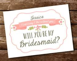 ask bridesmaids cards ask reader card etsy