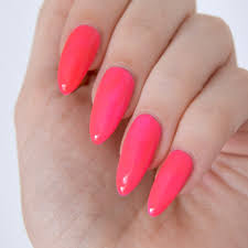 essie neon 2017 review with swatches neon pink nail polish neon