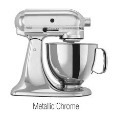 Kitchen Stand Mixer by Kitchenaid Kitchen Aid Stand Mixer Ksm152 Chrome Metallic
