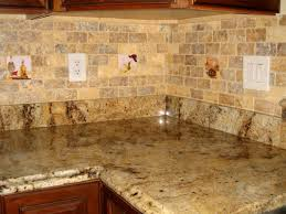 l shape kitchen design and decoration using light brown granite