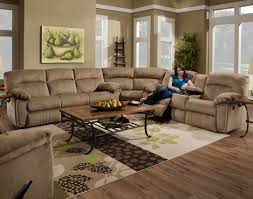 Black Leather Reclining Sectional Sofa Sofa Reclining Sofa With Cup Holders Fearsome Sectional Recliner