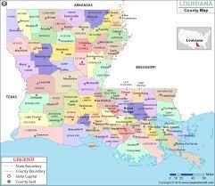 louisiana geographical map louisiana parish map louisiana parishes counties