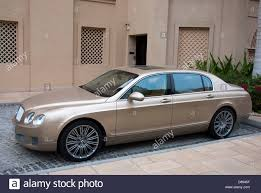 bentley continental flying spur gold colour bentley continental flying spur luxury saloon car