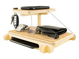 Desk With Charging Station Cool Iphone 6 Docking Station Valet Birch Plywood Material Watches
