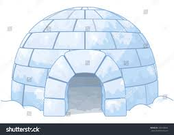 illustration igloo stock vector 305318642 shutterstock