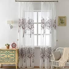 chambre gratuite livraison gratuite fenêtre enfant court chambre brun rideau tulle