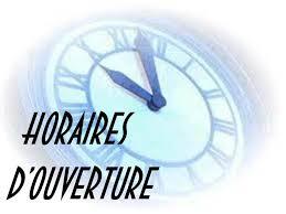 horaires de bureau horaires d ouverture services et conciergerie privee