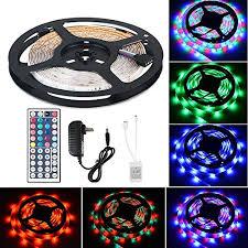 color changing led strip lights with remote flexible led strip light kit linkstyle 16 4ft led lights 300