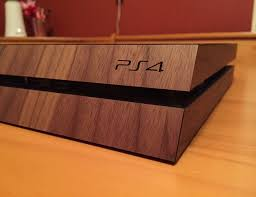 real wood real wood cover for ps4 by toast gadget flow