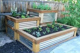 Box Garden Layout Waist High Raised Garden Bed Planters Raised Planter Box Plans