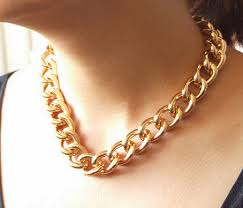 curb chain necklace fashion images Thick gold chain necklace on the hunt jpg
