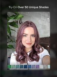 see yourself in different hair color hair color on the app store