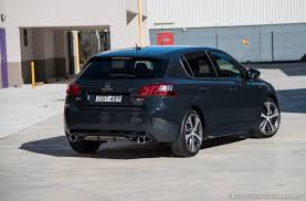 peugeot 308 gti 2012 2016 peugeot 308 gti 250 review video performancedrive
