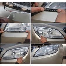 led strip lights headlights amazon com 4 pcs 30cm car truck flexible waterproof led light
