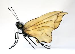 insects and made from repurposed objects by edouard martinet