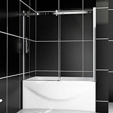 Sliding Bathtub Shower Doors Shower Model B038 Sliding Bathtub Shower Doors 60 W X 62