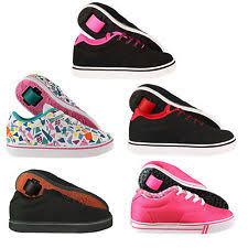 heelys megawatt light up wheels canvas heelys shoes for boys ebay
