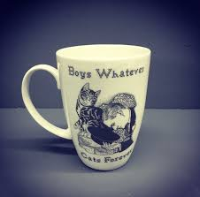 boys whatever cats forever mug charlotte clark designer maker
