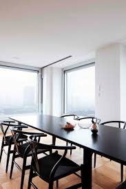 essay dining table by cecilie manz from fritz hansen and wishbone