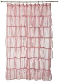 light pink ruffle curtains unbelievable light pink curtains home idea pict for baby inspiration