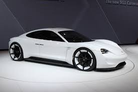 porsche mission e charging future electric cars the battery powered tech cars that will be