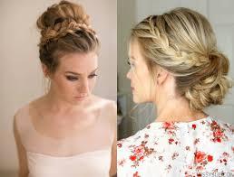 hairstyle bun with braid