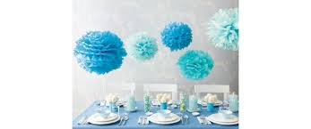 blue decorations blue supplies blue products