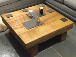 Oak Coffee Table Square Solid Oak Coffee Table Project 305 Abacus Tables