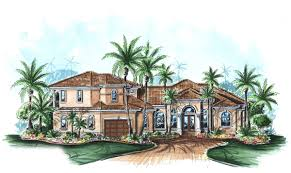 spacious spanish style home plan 66091gw architectural designs