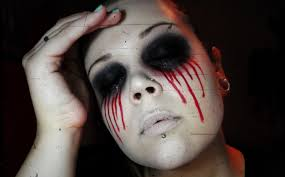 Makeup Halloween Easy by Bloody Mary Makeup Tutorial Halloween 2013 Youtube